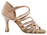 Zapato de baile Danc'in de Edición Limitada de Satén con Tacón de 8cm 8775