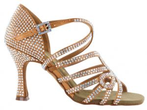 Zapato de baile Danc'in de Edición Limitada de Satén con Tacón de 8cm