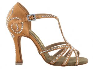 Zapato de baile Danc'in de Satén con Tacón 10cm