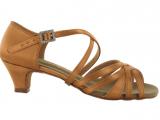 Zapato de baile en Satén con Tacón 3,5cm – 9057