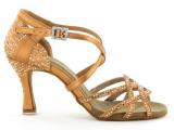 Zapato de baile Danc'in de Satén con Tacón de 7,5cm