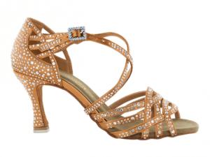 Zapato de baile Danc'in de Satén con Tacón 8cm