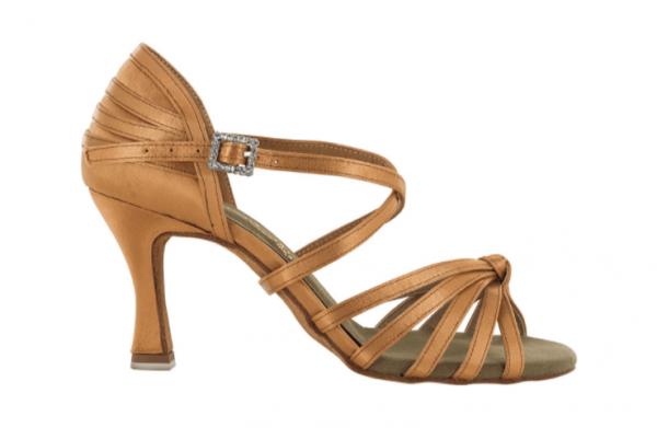 Zapato de baile Danc'in de Satén con Nudo de Tacón 7,5cm