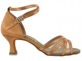Zapato de baile Danc'in de Satén y Redecilla con Tacón 5,5cm 5080