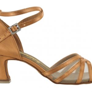 Zapato de baile Danc'in de Satén y Redecilla con Tacón 5,5cm