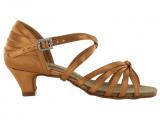 Zapato de baile en Satén con Tacón 3,5cm – 9058