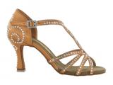 Zapato de baile Danc'in en Satén de Tacón 7,5cm