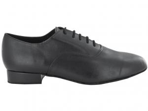 Zapato de baile modelo Oxford de color Negro con Tacón de 2,5cm