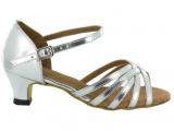 Zapato de baile Danc'in Plateado con Tacón 3,5cm