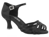 Zapato de baile Danc'in de Satén Negro con Tacón de 5,5cm