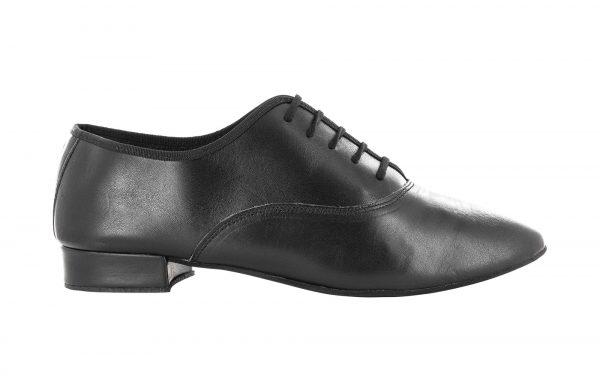 Zapato de baile Danc'in Hombre de Piel Negro con Tacón de 2'5cm