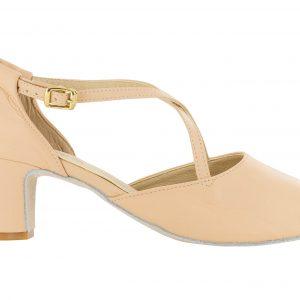 Zapato de baile Danc'in en Piel Rosa con Tacón de 5cm