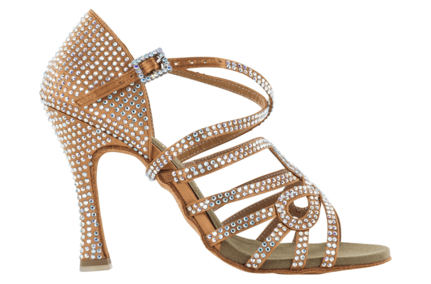 Zapato de baile Danc'in con tiras cruzadas en Tacón de 10cm 8778