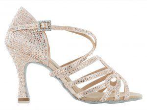 Zapato de baile Danc'in en Rosa Pálido con Tacón de 8cm
