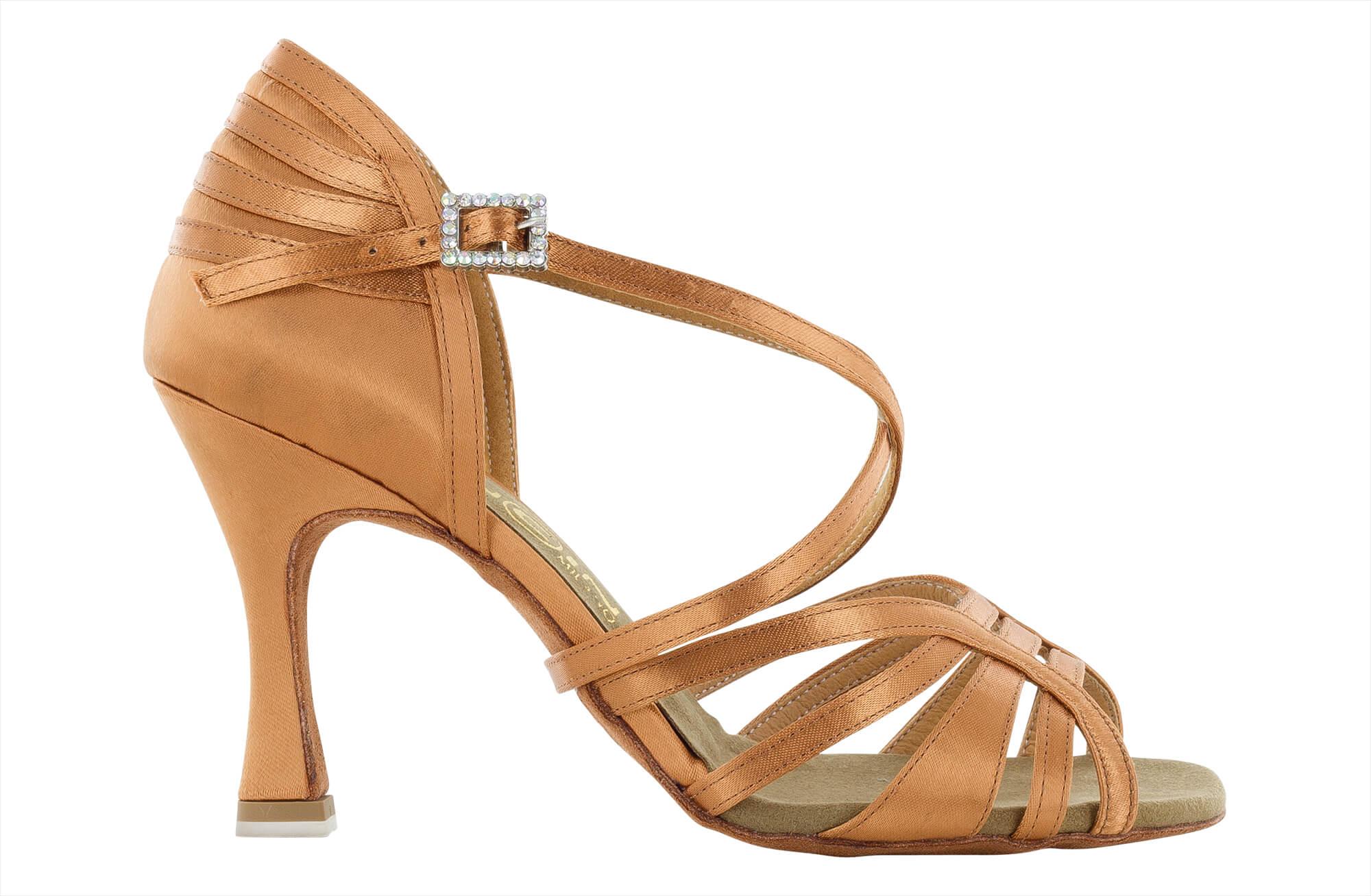 Zapato de baile Danc'in de Satén con Tacón de 8cm