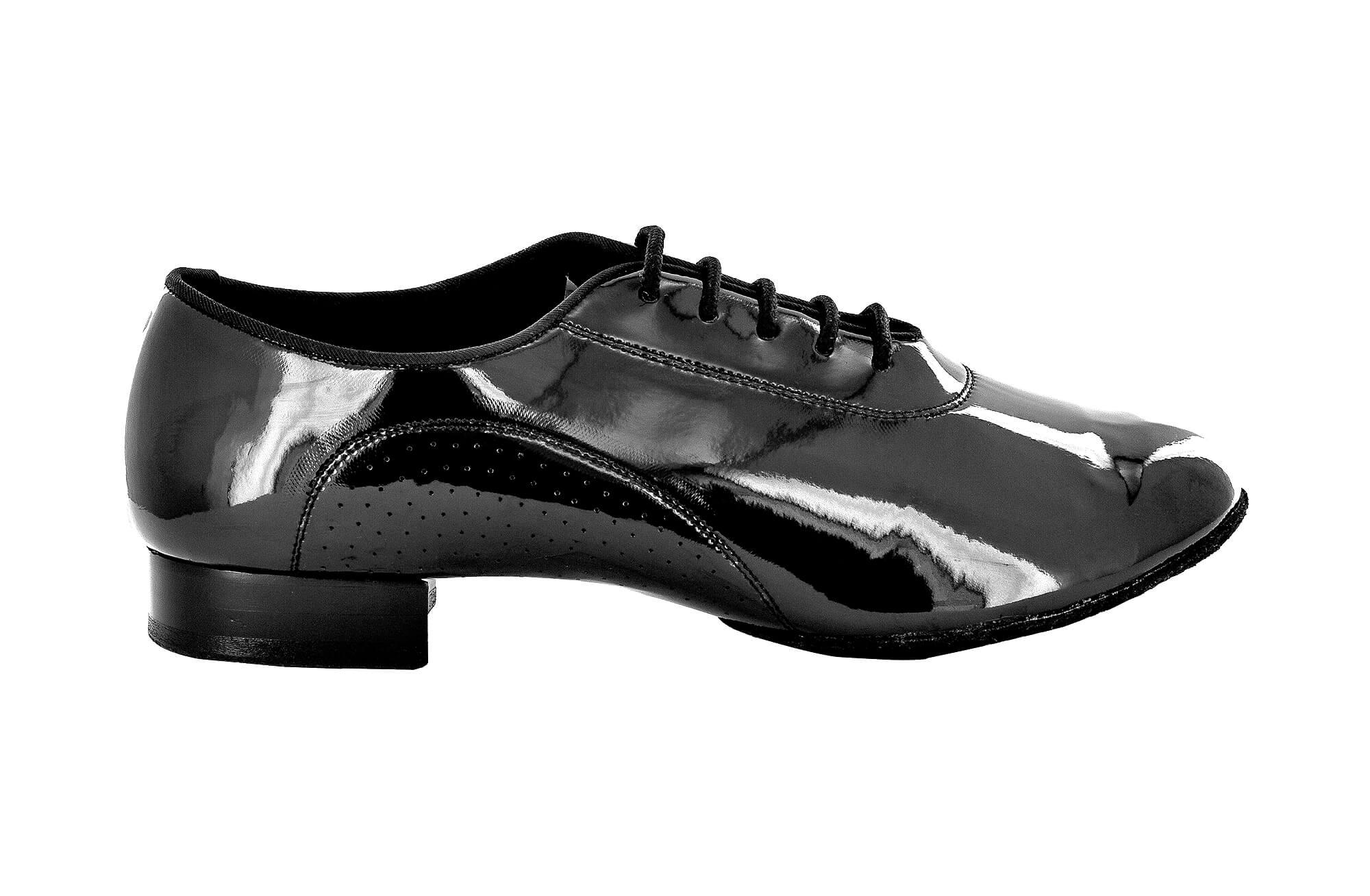 Zapato de baile Danc'in de Charol Negro con Tacón de 2cm 9104