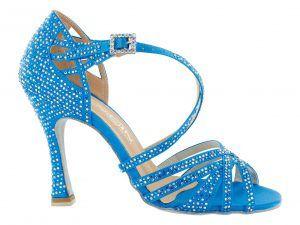 Zapato de baile Danc'in de Edición Limitada en Celeste con Tacón de 10cm