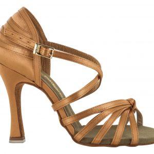 Zapato de baile Danc'in en Raso con Nudo de Tacón de 10cm