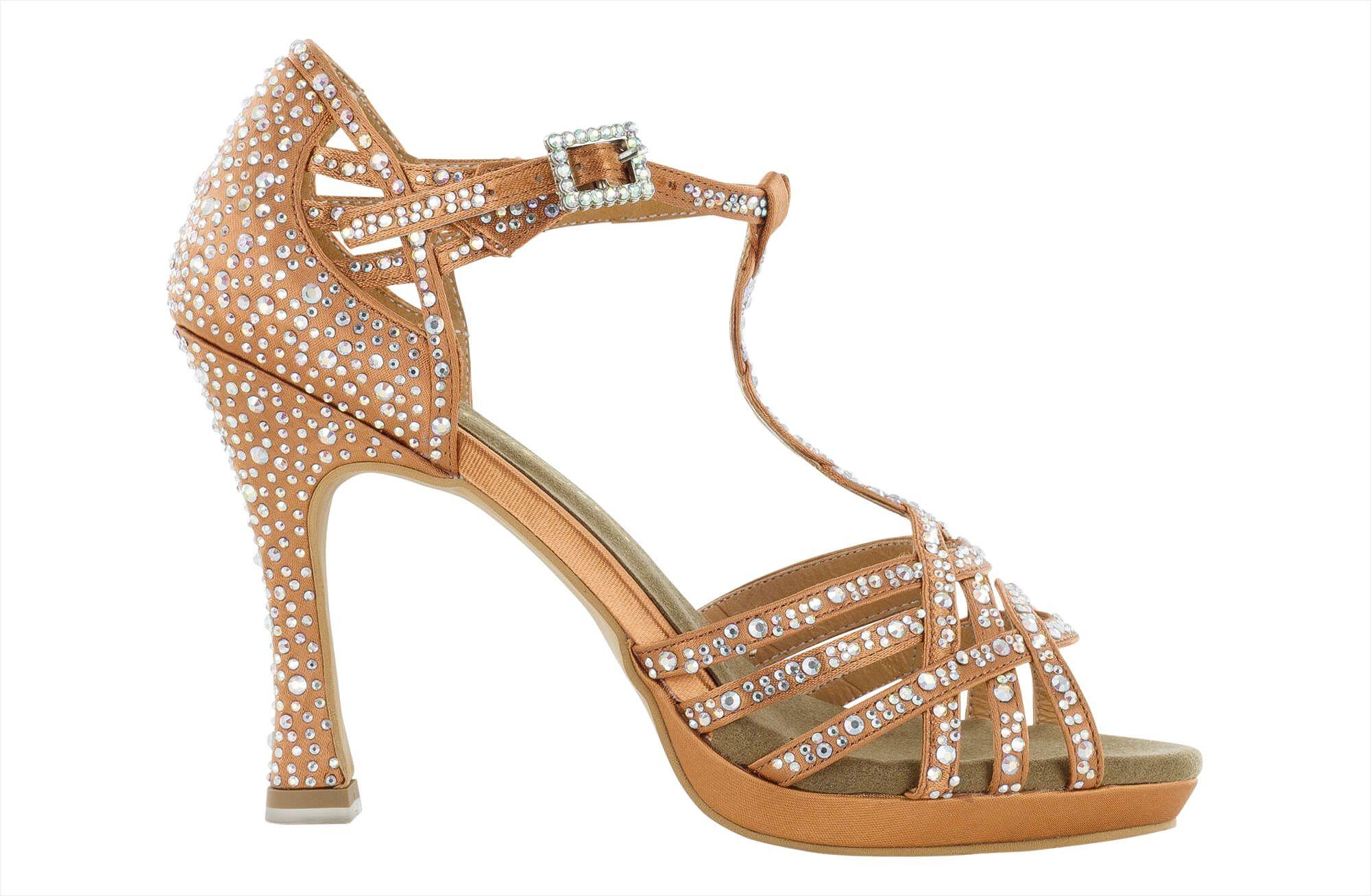 Zapato de baile Danc'in con Plataforma en Tacón de 10cm