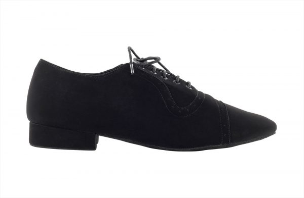 Zapato de baile Danc'in con Encaje en Nobuk