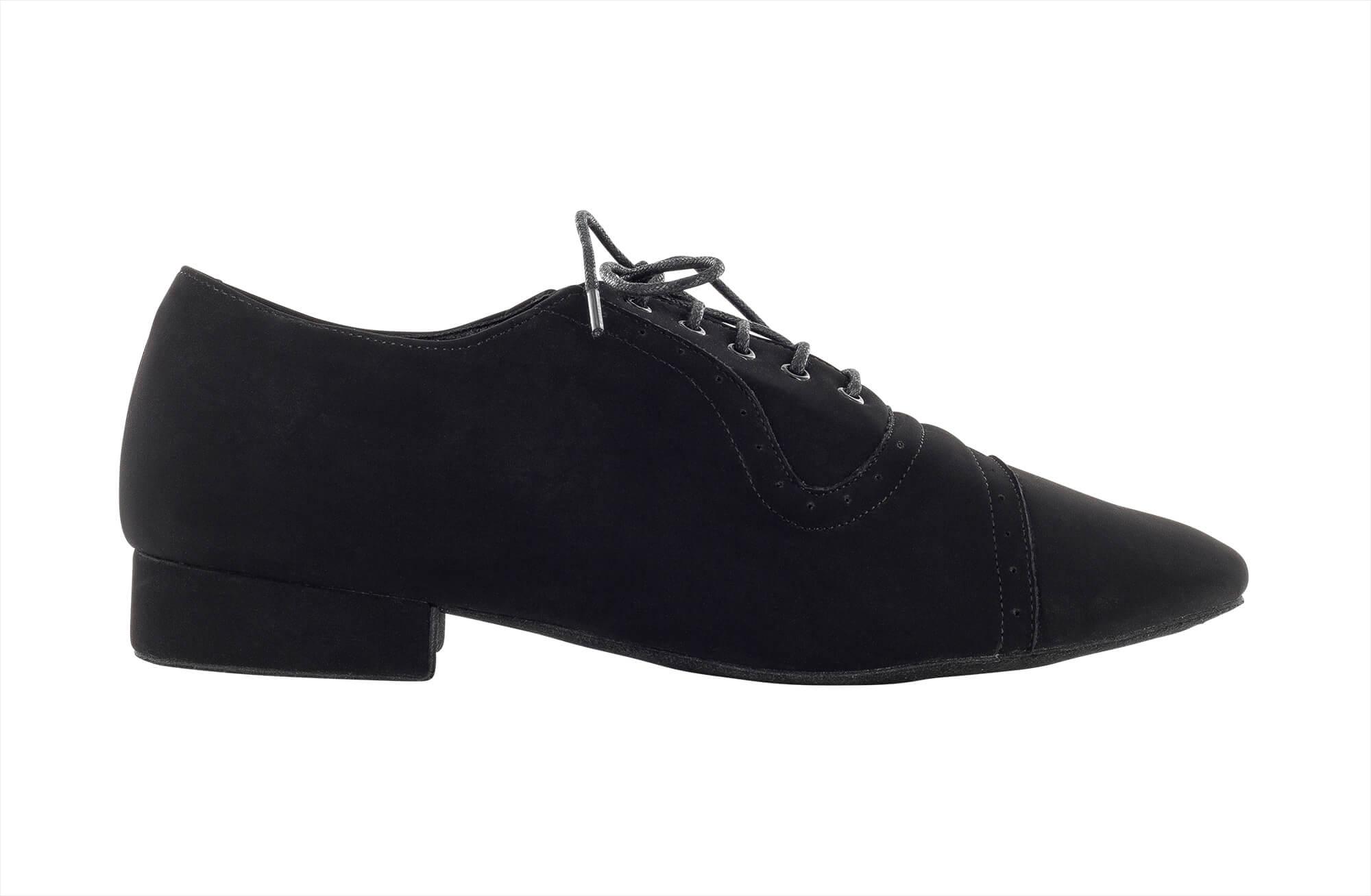 Zapato de baile Danc'in con Encaje en Nobuk de Tacón de 2'5cm