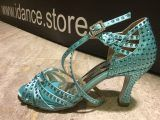 Zapato de baile Danc'in Verde Agua en Tacón de 7'5cm