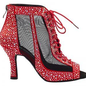 zapatos de baile, sandalias de baile, botas de baile, botines de baile, red, cordones y cremallera, Danc'in, idance store, idance shoes