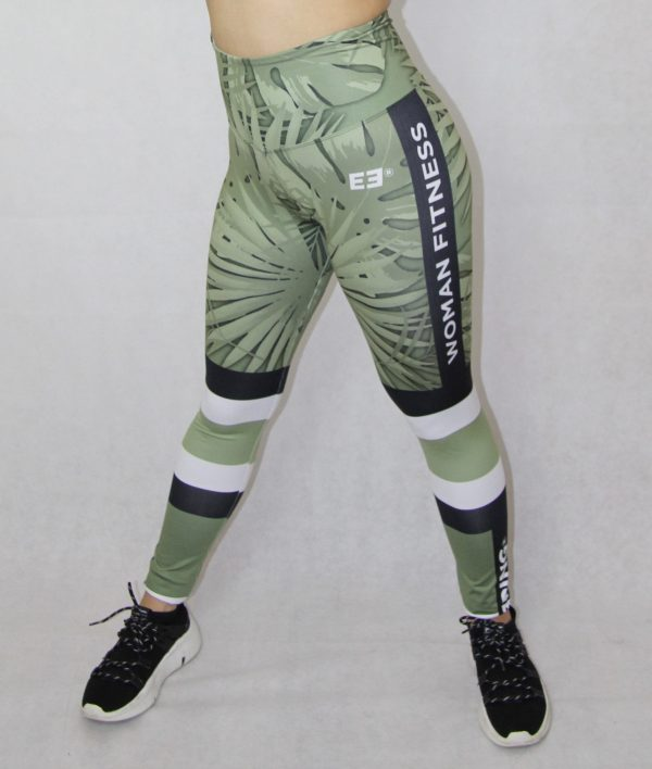legging deportivo IDance, verde palmera