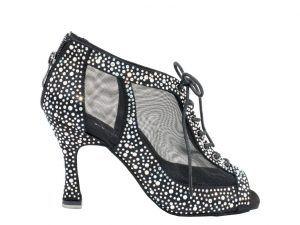 zapatos de baile, botin de baile, bota de baile, sandalia de baile, negro, red, idance shoes, idance store, Danc'in